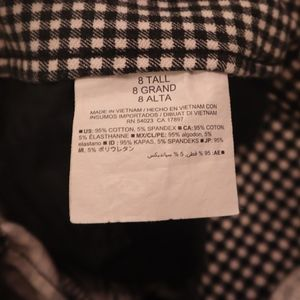 Old Navy Pants - Old Navy gingham pants